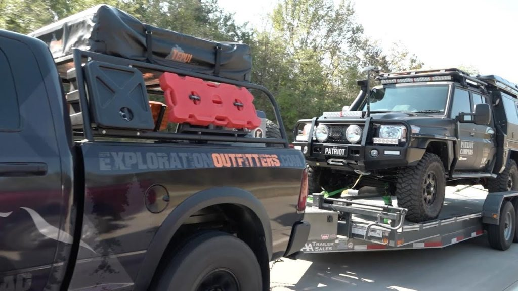 Patriot Campers – Visit Overland Expo East 2017 North Carolina, USA with the LC79 Black Truck