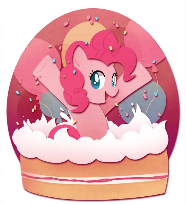 Май литл пони пинки пай торт