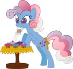cupcake g1 generation_leap kaylathehedgehog sprinkles_(food) sweet_stuff table transparent twinkle-eyed vector