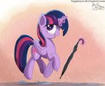 bugplayer highres magic princess_twilight rain twilight_sparkle umbrella