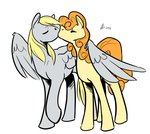 derpy_hooves golden_harvest kiss rwlart shipping