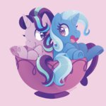 chocochaofun starlight_glimmer teacup the_great_and_powerful_trixie