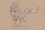 absurdres autumn_blaze flutterstormreturns highres kirin traditional_art