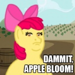 :gonk: apple_bloom crossover king_of_the_hill lollipoppaintbrush macro parody
