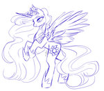 clefficia highres princess_celestia