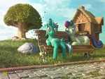 3d_model bench expir lyra_heartstrings sweetie_drops