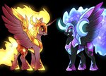 daybreaker highres nightmare_moon not-ordinary-pony redesign