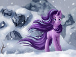 absurdres highres pony-way snow starlight_glimmer
