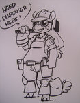 anthro applejack atryl highres team_fortress_2