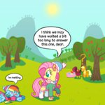 apple_bloom applejack fluttershy ponett rainbow_dash