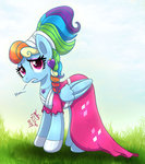 dress highres joakaha rainbow_dash
