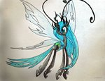 breezie pandan009 queen_chrysalis traditional_art
