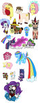 angel applejack apples buckingawesomeart butter diamond elements_of_harmony fart fluttershy highres main_six mexico original_character parasprite pinkie_pie rainbow_dash rarity sketch spike twilight_sparkle
