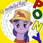 album_cover are_we_not_men?_we_are_devo! devo parody twilight_sparkle txlegionnaire