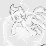 crossover grayscale lucas mother_3 nintendo ponified speccysy