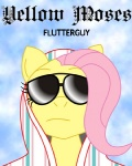 artist_unknown big_pimpin black_moses fluttershy glasses isaac_hayes mspaint parody sunglasses