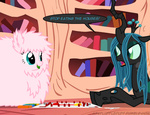 ask askflufflepuff board_game fluffle_puff fluffy mixermike622 monopoly original_character queen_chrysalis