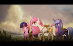 absurdres highres plotcore princess_celestia princess_luna twilight_sparkle