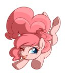 absurdres highres pinkie_pie saber-panda tongue transparent