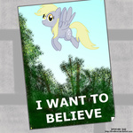 derpy_hooves invidlord parody poster the_x-files