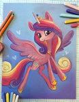 coffeecuppup princess_cadance traditional_art