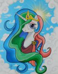 deadliestvenom highres princess_celestia traditional_art