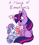baby magic princess_flurry_heart princess_twilight teddy_bear text thesoleil twilight_sparkle