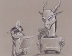 baroncoon discord headphones magic microphone traditional_art twilight_sparkle