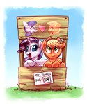 applejack highres rarijack rarijack-daily rarity shipping whitediamonds