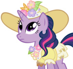dress hat highres purplefairy456 transparent twilight_sparkle vector