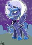 emositecc highres magic moon princess_luna