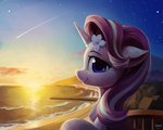 absurdres beach draconidsmxz flowers highres starlight_glimmer