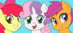 apple_bloom cutie_mark_crusaders empyu scootaloo sweetie_belle