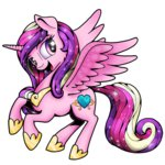 ponedraws princess_cadance