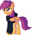 absurdres cyanlightning grown_up highres scootaloo vector