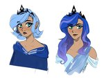 humanized its-gloomy princess_luna