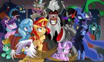ahuizotl diamond_tiara discord gilda ibringthazelc king_sombra lightning_dust mane-iac nightmare_moon queen_chrysalis shutter_shades suri_polomare the_great_and_powerful_trixie tirek