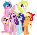 applejack faith-wolff firefly g1 generation_leap posey sparkler surprise twilight