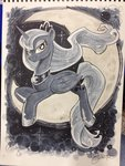 andy_price moon princess_luna traditional_art