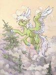 flying forest highres koviry original_character