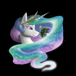 anadukune big moon planet princess_celestia