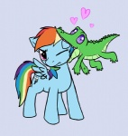c0nker gummy heart rainbow_dash