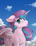 absurdres anadukune grown_up highres princess_flurry_heart