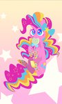 highres lollipop pinkie_pie pixernosse rainbow_power stars