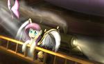 angel colorsymphony fluttershy steampunk twilight_sparkle