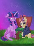 absurdres firimil highres moondancer princess_twilight tree twilight_sparkle