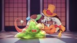assasinmonkey bow_tie discord grand_galloping_gala hat highres smooze tophat