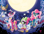 costume owlowiscious parasprite pinkie_pie spike tonyfleecs twilight_sparkle