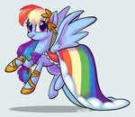 absurdres dress gala_dress highres ohjeetorig rainbow_dash