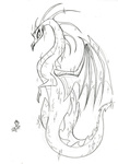 dragon fim_crew lauren_faust production_art sketch twilight_sparkle